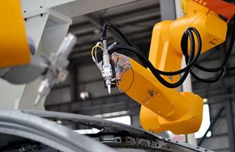 3D Robot Fiber Laser Cutting Machine Factory