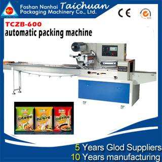 Full Stainless bakery equipment automatic packing machine price for food new product for small busin