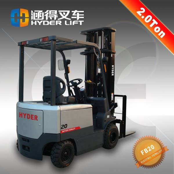 High Quality 2 Ton Electric Forklift With AC Motor