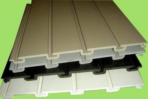Plastic slatwall panel
