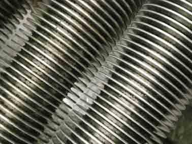 Sell fin tubes ( Al fin, steel fin)