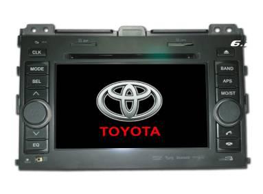 2 din 7 touch screen car dvd GPS Bluetooth Toyota Prado HD5016