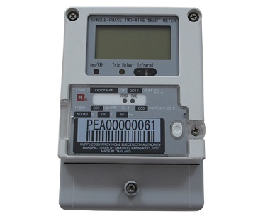 Single-phase Charge Control Smart Electricity Meter