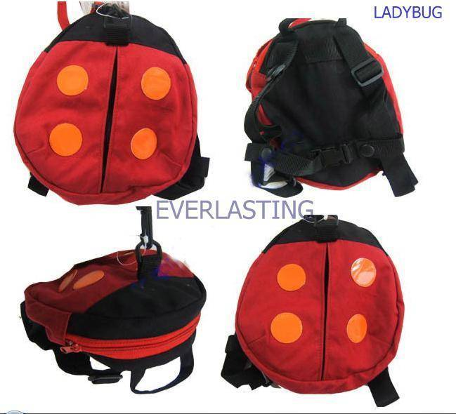 Harness buddy(ladybug type)/Baby Carrier/Backpack/Baby Safty Harness/Kid Keeper