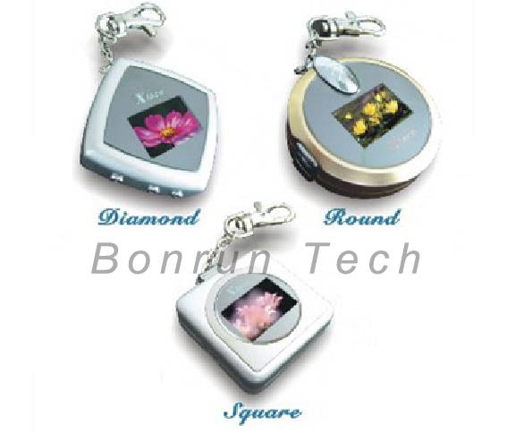 Mini Digital key chain photo frame