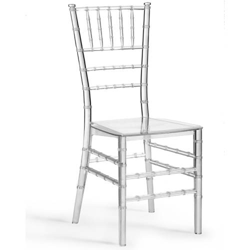 sell resin chiavari chairs , manufactured by one-time injection molding ,100% virgin Polycarbonate