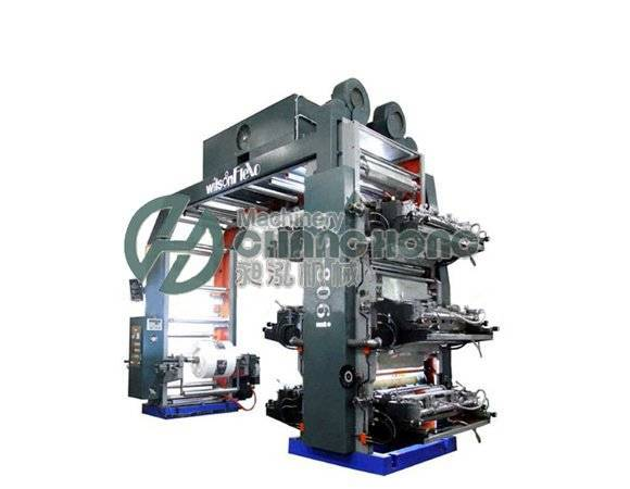 6 Colors High Speed Non-Woven Printing Machine (CH886)