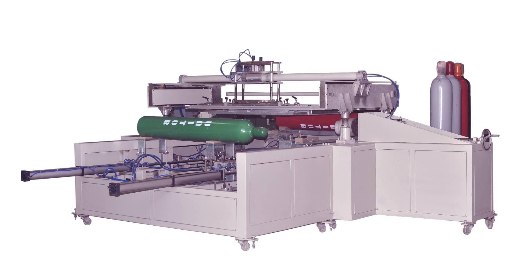 Steel Cylinder Screen Printing Machine