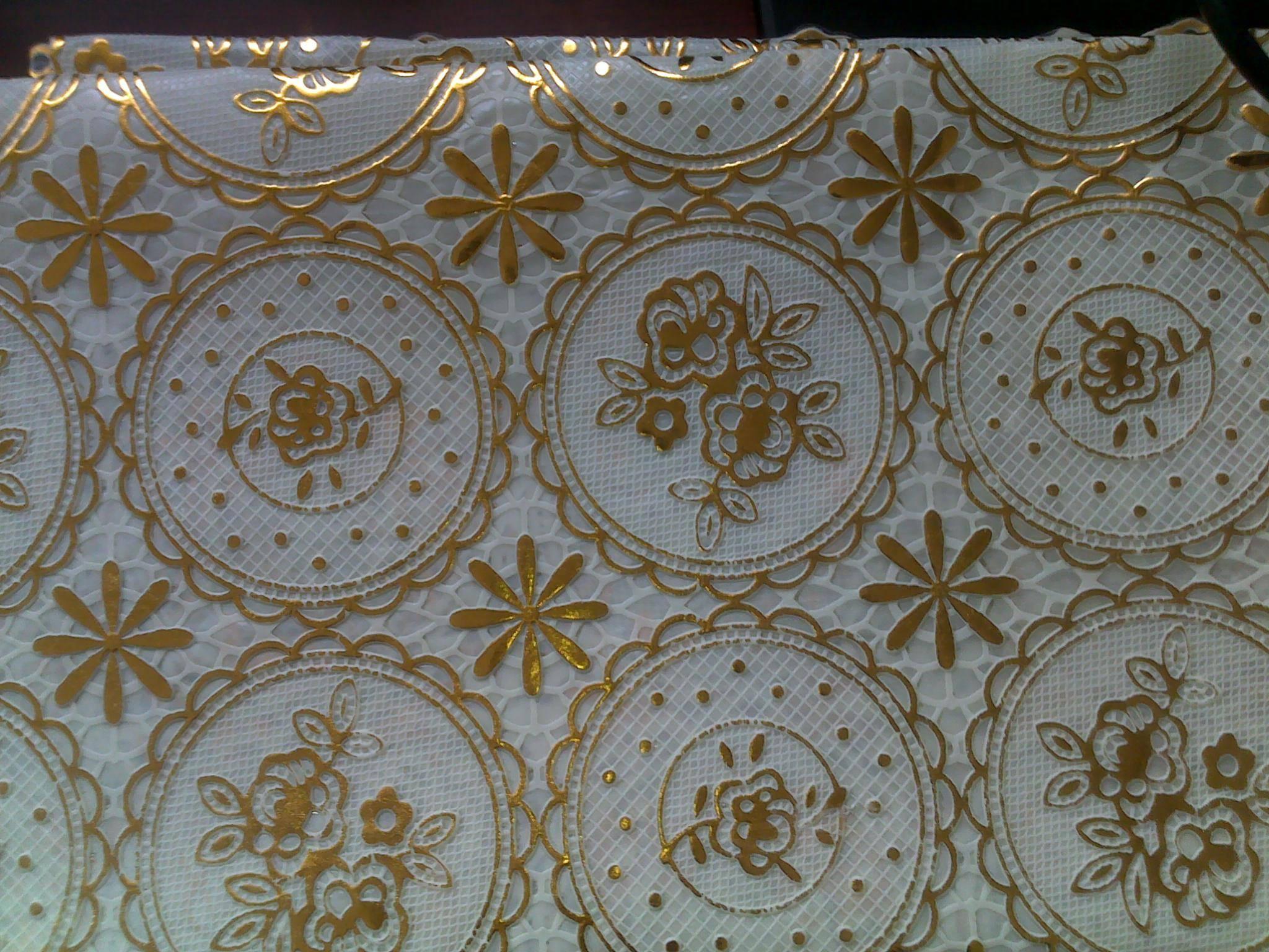 PVC tablecloth making machine