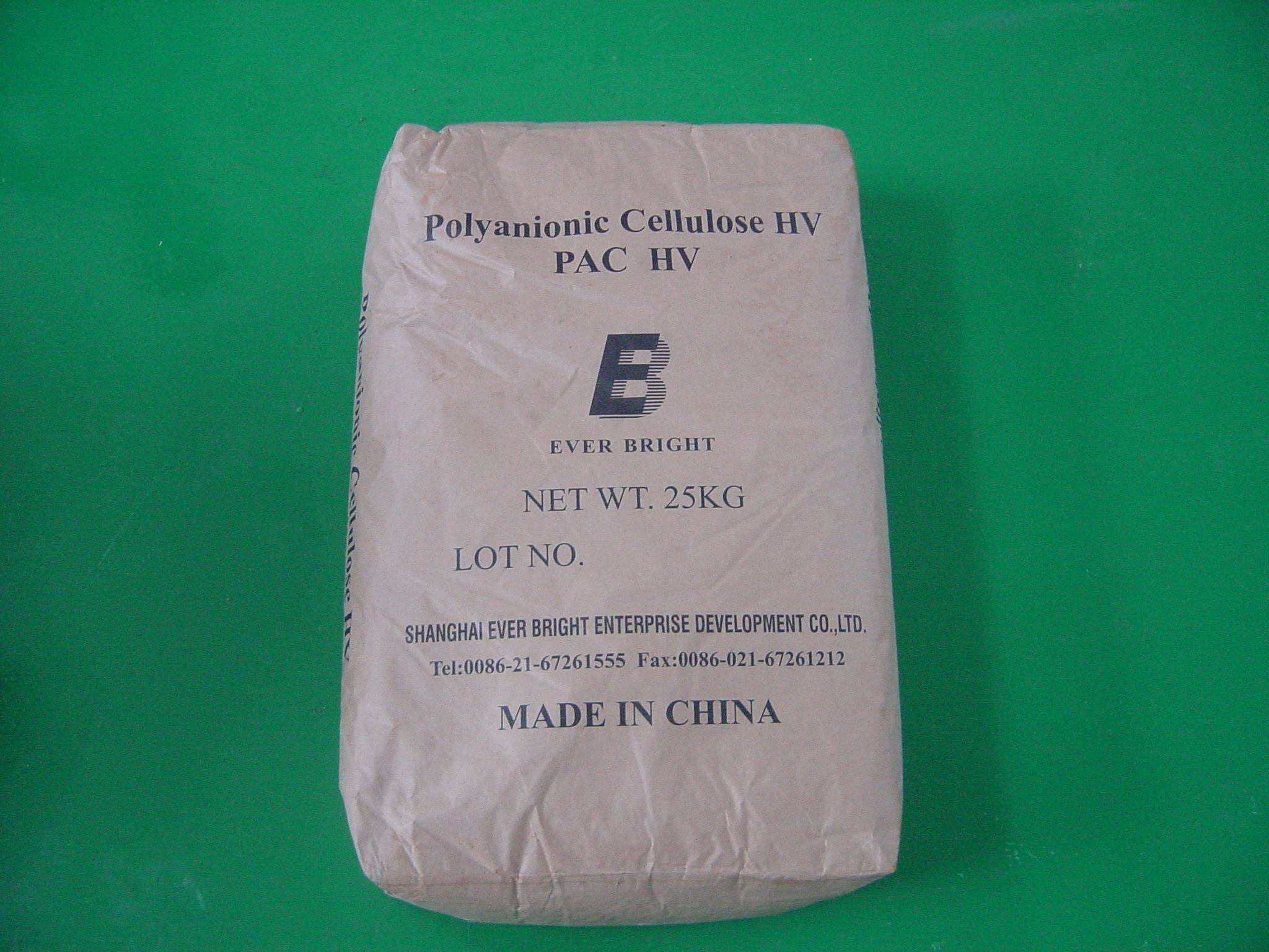 cellulose (CMC), poly cellulose products (PAC, CMC)
