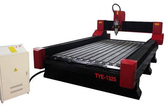 1300 2500mm 3D Stone cnc engraving machine TYE-1325