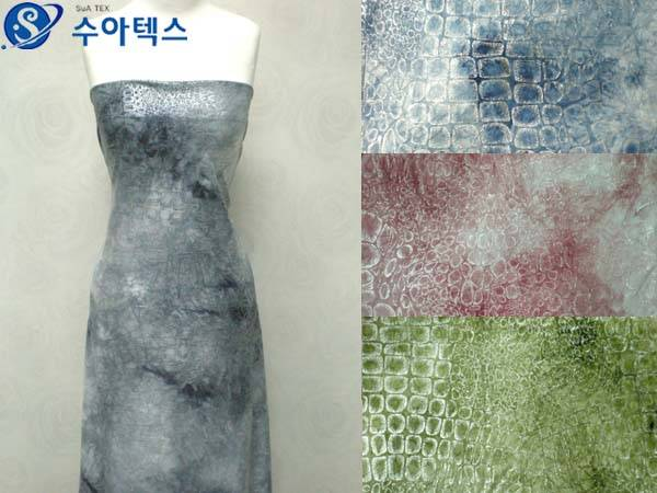 SNF-1193 ( knit t/dyed & foil )