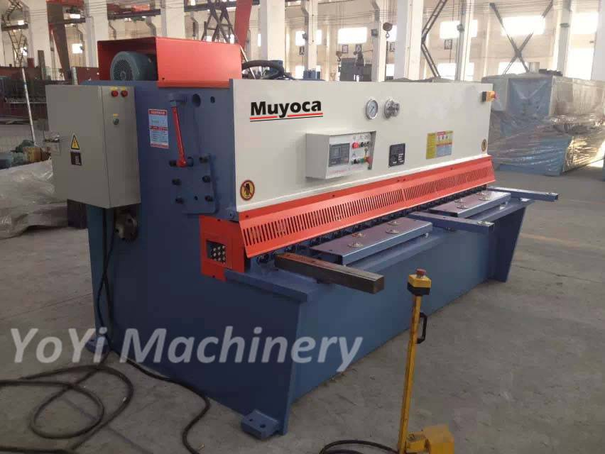8mm 2500mm hydraulic pendulum plate shearing machine