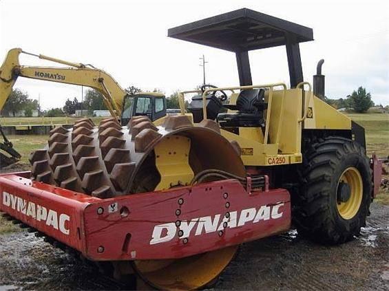 used roller dynapac CA250