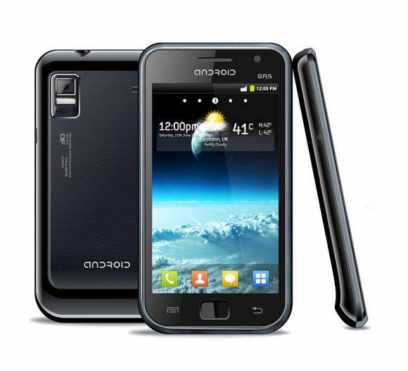 4.1 Capacitive touch screen Android 2.3 OS WCDMA 3G+GSM dual sim cards smart cell phone