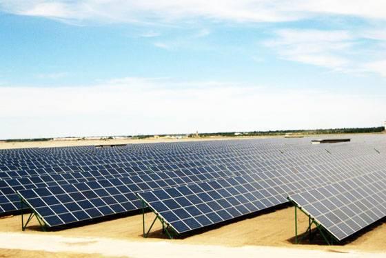 Solar matrix mounting system