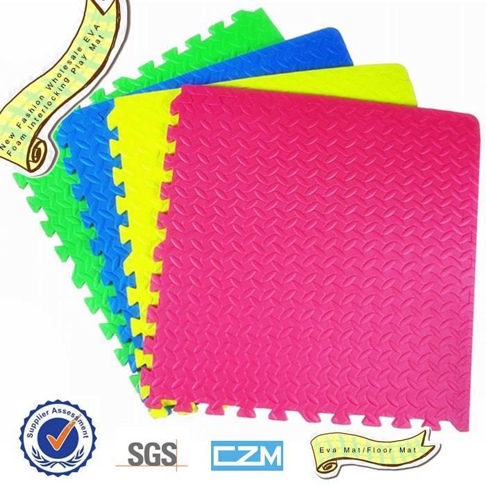 New Fashion Wholesale EVA Foam Interlocking Play Mat