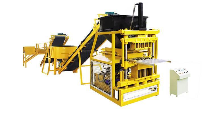 SHM4-10 interlock block making machine