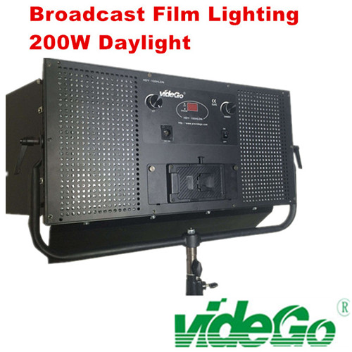 videGo LED Video Panel Light/Daylight/bi-color/Tungsten/100w bi color/50w 1x1 soft video light/broad