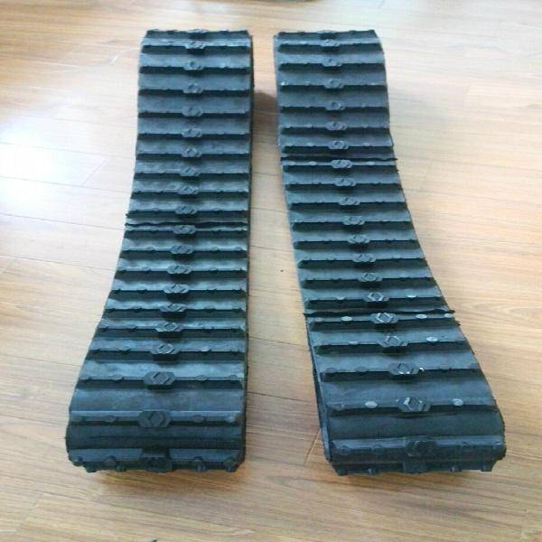 Robot Hot sale Rubber Track/rubber track for robot use (180x65x44)