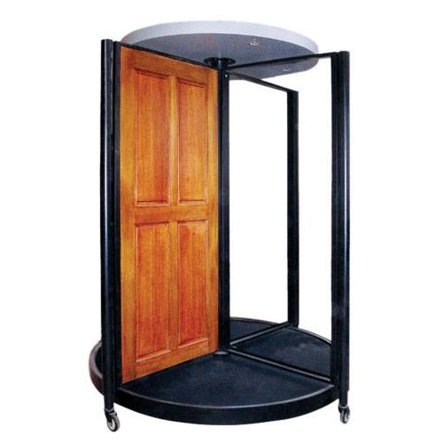 steel  display rack for  door