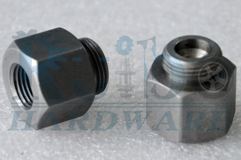 Steel tube nut for automobile