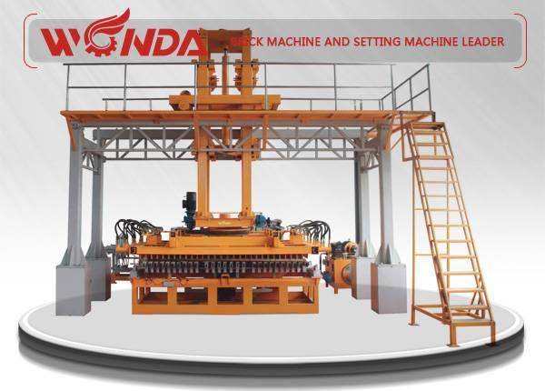 CNC Brick Setting Machine