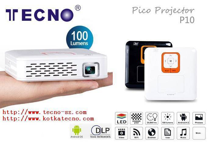 TECNO P10 Mini pico Projector
