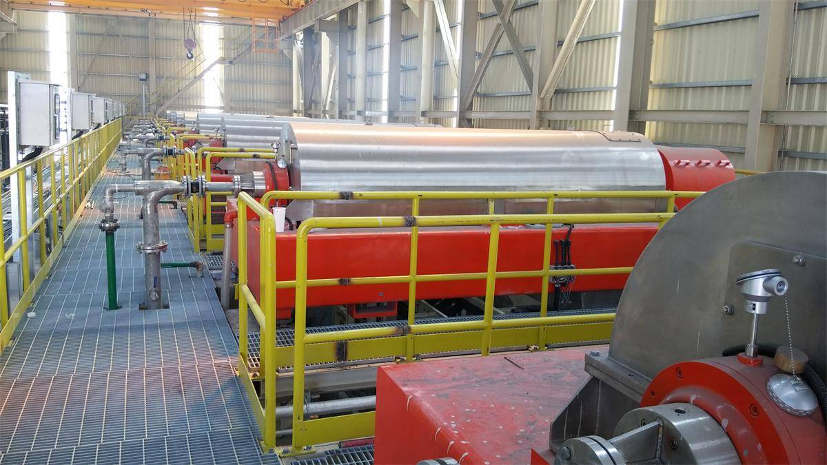 Desulfuration wastewater treatment decanter centrifuge