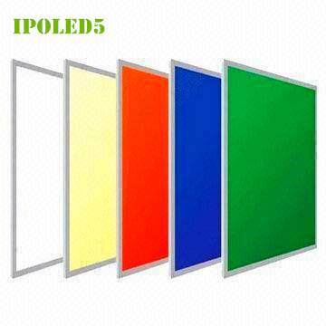 LED panel lights RGB 600600 32Wwith super thin 9mm DC 24V 5050 SMD Ceiling light