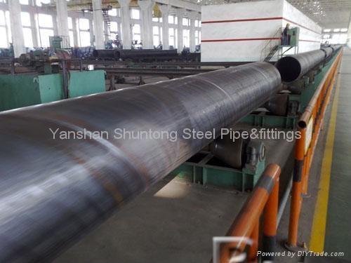 astm a252 API 5L Spiral steel pipe