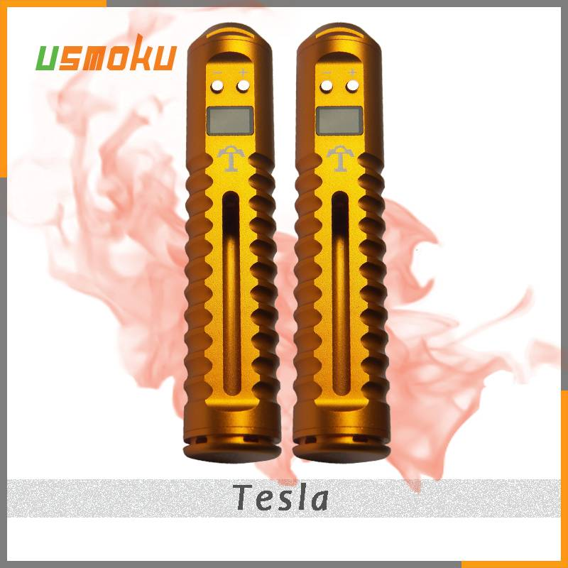 Wholesale - Huge Vapor Tesla Variable Voltage Ecig Lavatube Tesla Kit with 18650 Battery DHL Free
