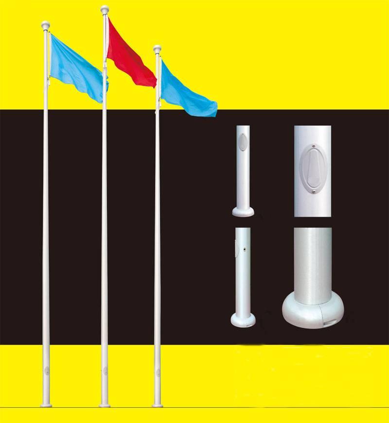 Aluminum Alloy Tapered Flag Pole