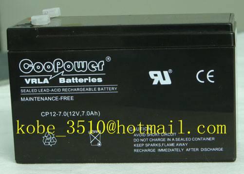 VRLA UPS Battery 12V 7ah