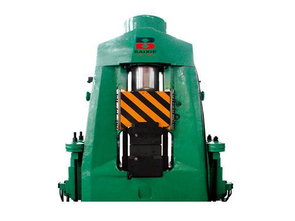 PLC fully hydraulic counterblow hammer
