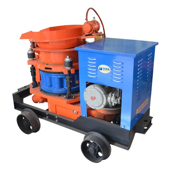 pulp shooting machine shotcrete machine, concrete injector cement gun