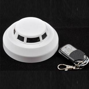 H.264 1080P HD Smoke Detector Hidden Camera DVR with Motion Detection,Night Vision&Remote Control
