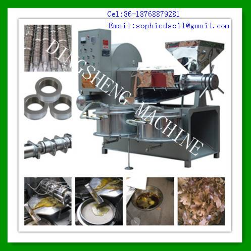 Small Cold Press Oil Machine and peanut oil expeller
