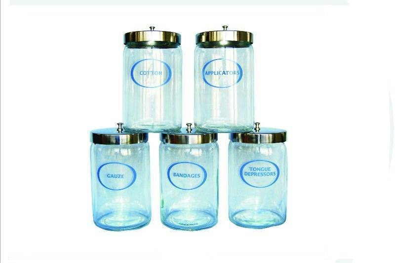 Plastic Sundry Jars for Medical Office