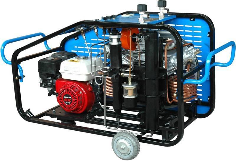 High pressure breathing air compressor LYW300CD