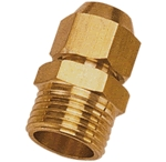Brass Flare & Male Connector