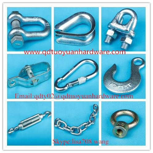 China manufacturer rigging hardware Shackle