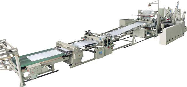 ABS Single Layer, Multi-Layers Composite Sheet Product Line extrusion equipment supplier
