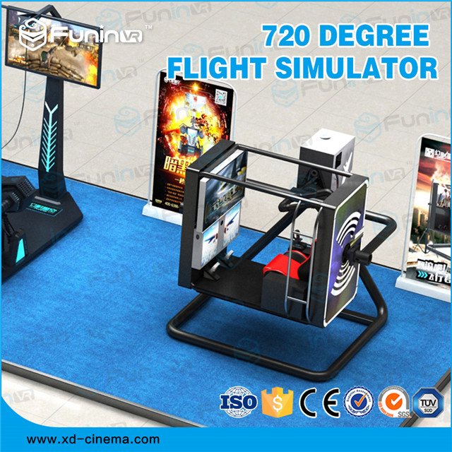 Selling 2018 hot selling 720 Degree Flight Simulator game machine for sale