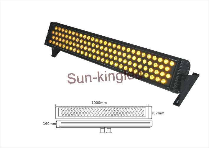 108W led wall washer light