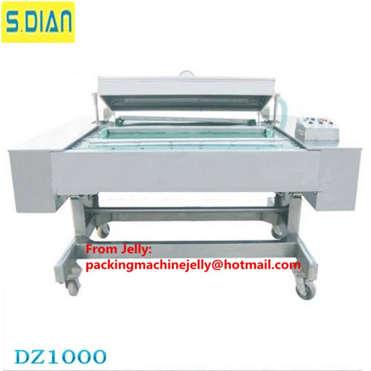 Automatic double vacuum packing machine