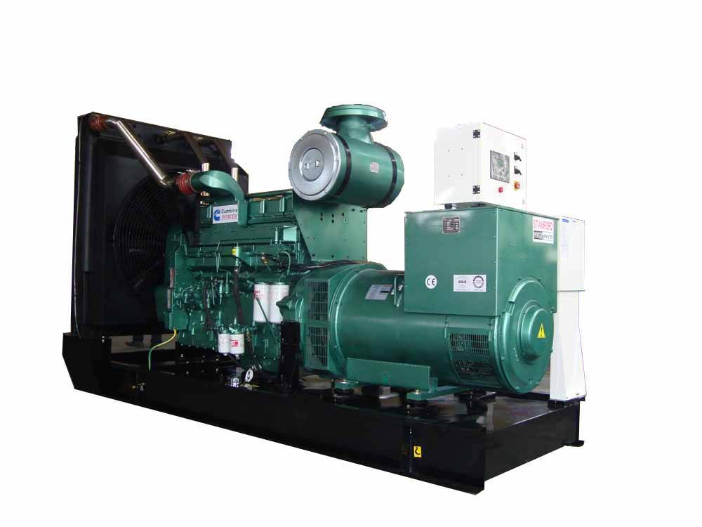 Diesel generator set, Cummins + stamford