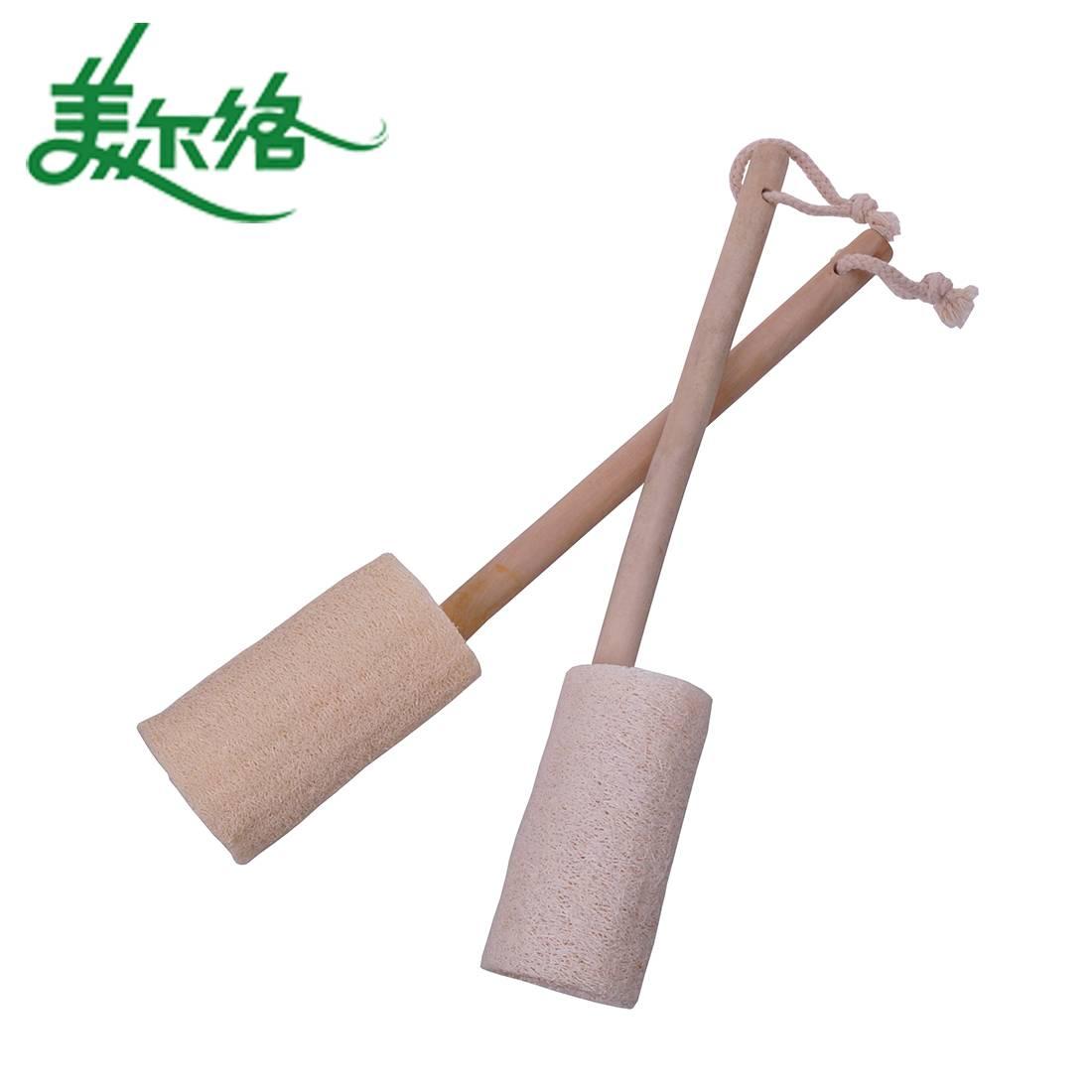 Wood Handle Bath Brush