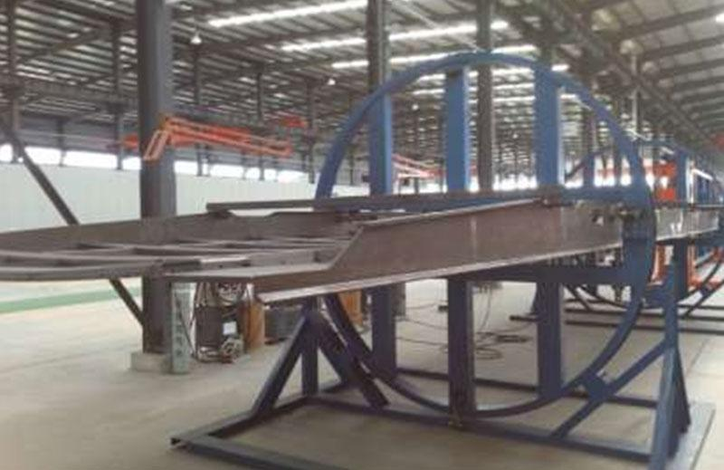 Railway Freight Train Welding and Assembling