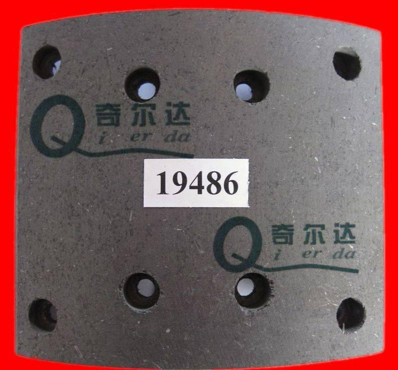 19496 asbestos and non asbestos truck brake lining , no noise, wear high temperature